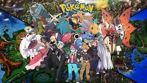 Champion Pokemon trainers Updated art