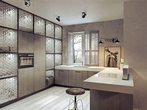 mur beton comme accent dans les studios contemporains