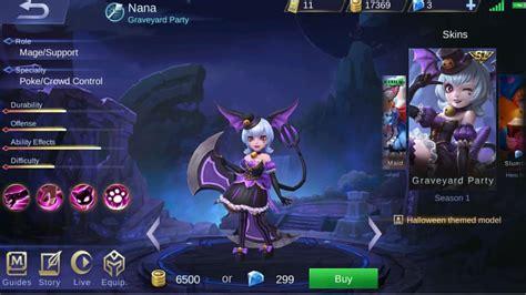 Nana Graveyard Party Rework. Ctto Ml.leak