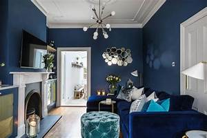 35, blue, living, rooms, made, for, relaxing