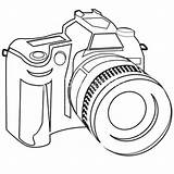 Dslr Slr Digital Camera Sketch Drawing Clip Coloring Line Vector Cameras Clipart Illustration Cost Clipartbest Offers Low Costs Greatest India sketch template
