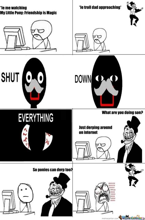 Dad Comic Meme - troll dad by your father meme center