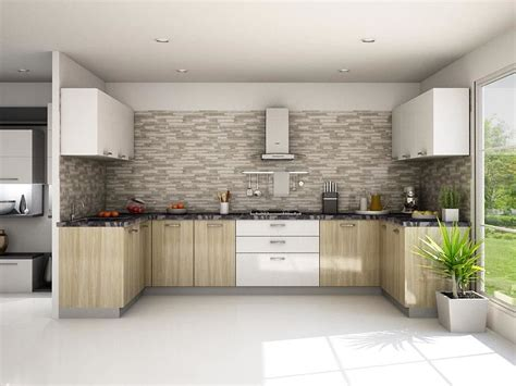 modular kitchen design ideas munnar l shaped modular kitchen designs india homelane 7817