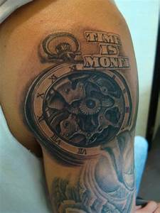 Time Is Money Tattoo Designs With Clock | www.imgkid.com ...