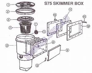 Waterco S75 Skimmer Box Parts  U2013 Epools Pool Shop