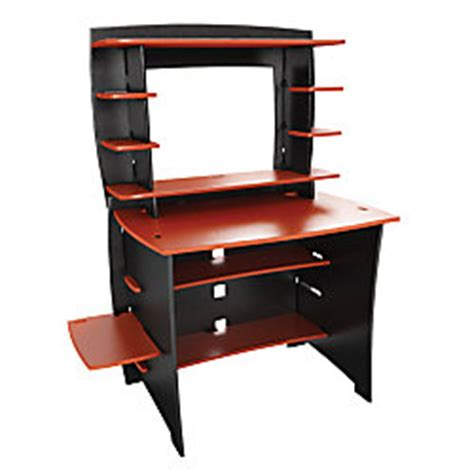office depot student desk legare select wood 36 student desk and hutch redblack by