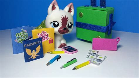 diy doll travel accessories passport diary real pencils
