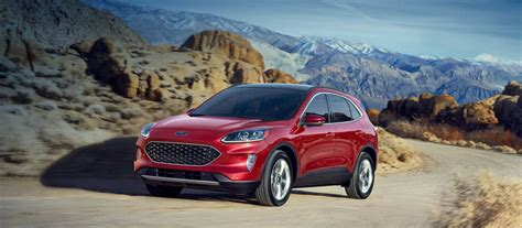 The 2021 ford escape was built for an active lifestyle and offers plenty of options for you to hit the road in your own individual style. 2020 Ford® Escape SUV | New Hybrid Models