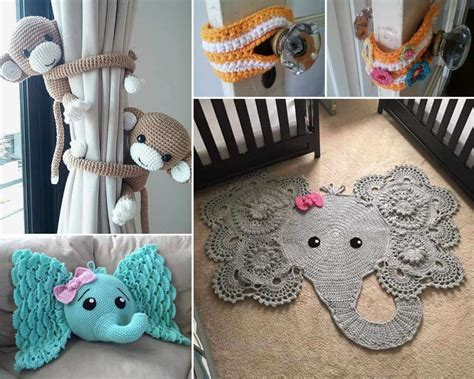 10 Super Cute Ideas To Decorate Your Kids' Room With Crochet