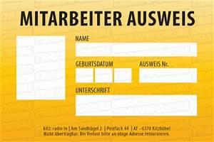 Grafik design mitarbeiterausweis ausweis vorlage design for Mitarbeiterausweis vorlage