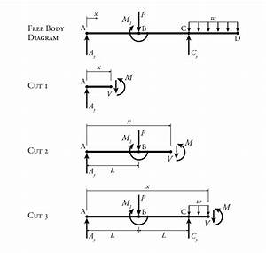 35 Cantilever Beam Free Body Diagram