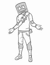 Fortnite King Coloring sketch template