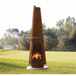 Feuerstelle Für Terrasse : fumotto feuerstelle und grillkamin f r die terrasse ~ Frokenaadalensverden.com Haus und Dekorationen