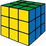 Cube Icon Rubik Yellow Rubiks Library 3d