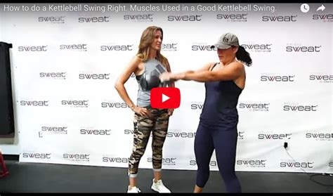 kettlebell swing right benefits trainer tip