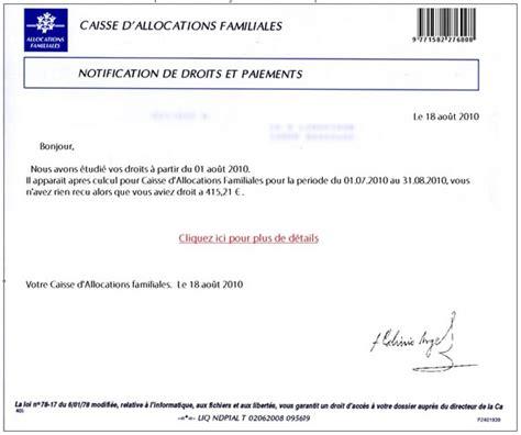 modele attestation de non paiement caf caf 71 le officiel de la caf 71