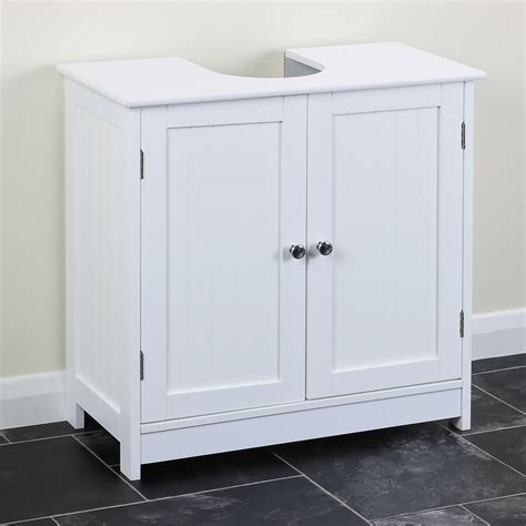 classic white  sink storage vanity unit bathroom