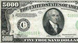 Names On US Currency Presidents
