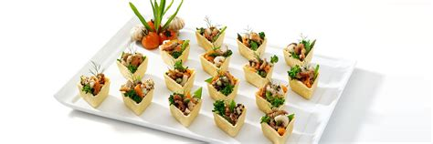 filo pastry cases canapes summer savoury canape recipes for your event