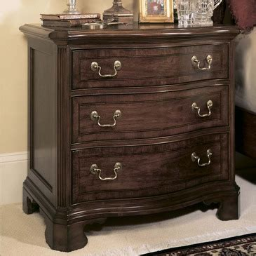 american drew nightstand american drew cherry grove 3 drawer nightstand in antique