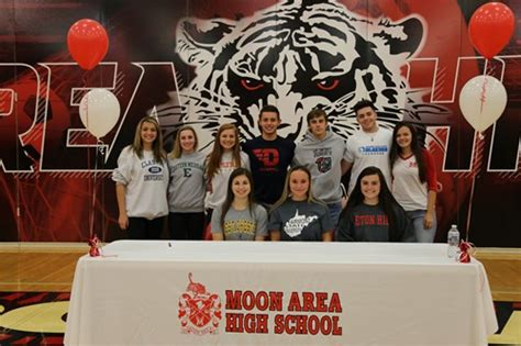 fall letter intent signing november moon area school district