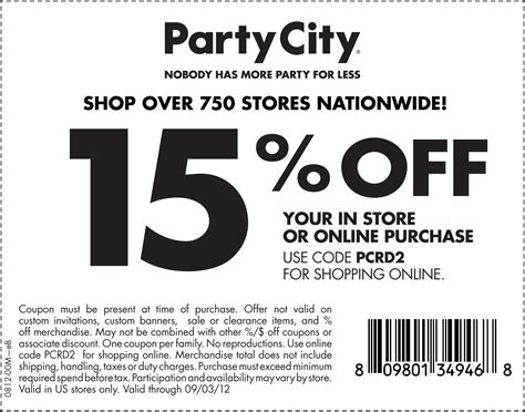 Party City Printable Coupons – Printable Coupons