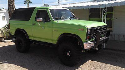 electric power steering 1985 ford bronco on board diagnostic system ford bronco xlt sport utility 2 door cars for sale