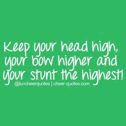 quotes about cheerleading quotesgram