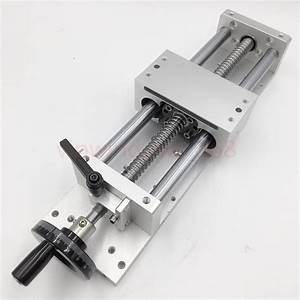 Manual Linear Stage L600mm Cross Slide Actuator Table