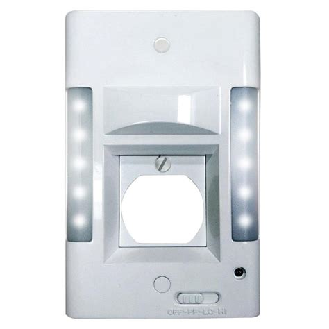capstone 2 in 1 10 led outlet 0460 the home depot