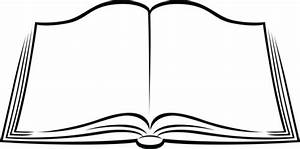 Book clipart open book - Pencil and in color book clipart ...