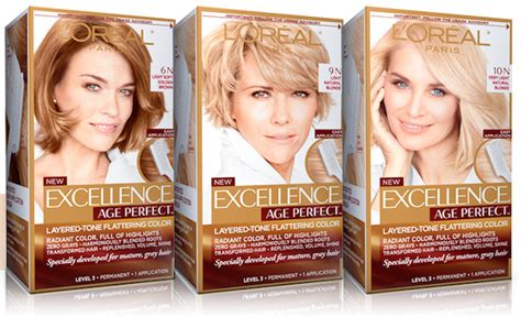 L'oreal Excellence Or Excellence Age Perfect Or Preference