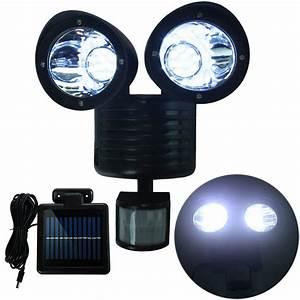 Dual Security Detector Solar Spot Light Motion Sensor