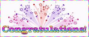 Congratulations - Free animations (animated gif)