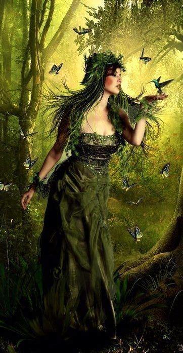 green lady   Celtic goddess, Celtic myth, Celtic gods