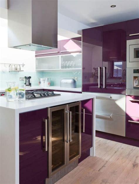 cuisine violet cuisine violette 12 idées de déco pour une cuisine violette