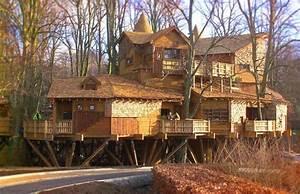 Constructeur Cabane Dans Les Arbres : 10 maisons dans les arbres incroyables ~ Dallasstarsshop.com Idées de Décoration