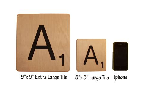 extra large scrabble tiles 9x9 home decor free