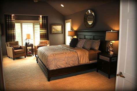 Art Deco Master Bedroom With Carpet By Lorrie Williams