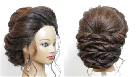 bridal hairstyle  long hair step  step perfect