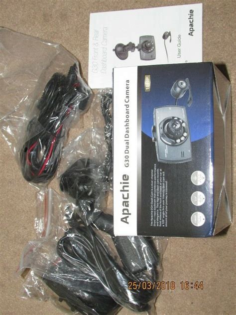 apachie dual dashboard camera dash cam