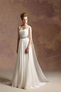 2016 hot sale greek goddess a line chiffon beach wedding With greek inspired wedding dresses