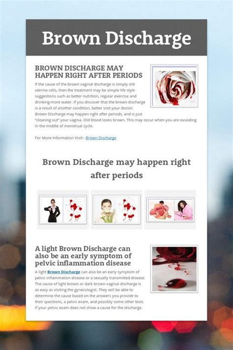 Light Brown Discharge No Period by 46 Best Images About Brown Discharge On Be