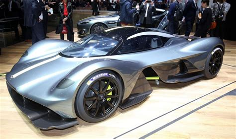 aston martin valkyrie is a complete head turner at geneva