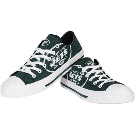 Men's New York Jets Big Logo Low Top Sneakers