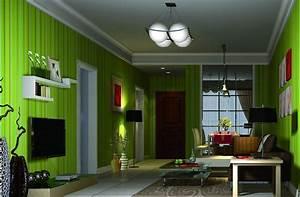 Green Walls Living Room Ideas