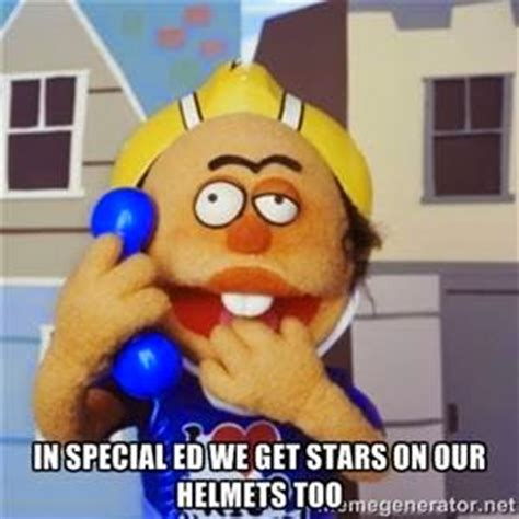 Special Ed Meme - 22 meme internet in special ed we get stars on our helmets too