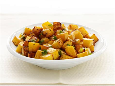 rutabaga recipes roasted rutabaga recipe food network kitchen food network