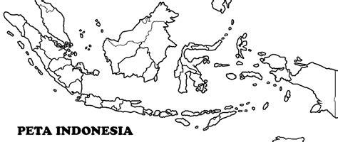 Gambar Peta Buta Indonesia Hitam Putih Printablehd Terbaru 2015 Lengkap