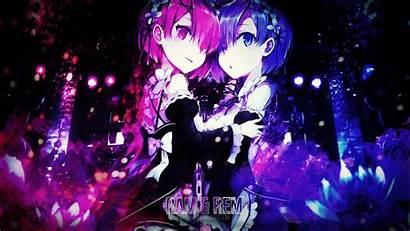 Rem Ram Zero Re Wallpapers Rezero Desktop